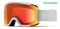 SMITH okuliare SQUAD white vapor/ChromaPop Photochromic Red Mirror