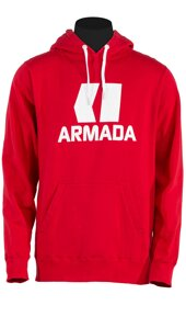 Armada Mikina CLASSIC PULLOVER red