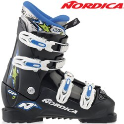Nordica Lyžiarky GP TJ black/white/blue