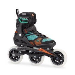 ROLLERBLADE MACROBLADE 110 3WD  W BLACK/LIGHT GREEN