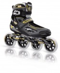 ROLLERBLADE TEMPEST 100 anthracite/yellow
